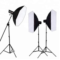 New fashion photo studio accessories useful photographic led studio softbox kit for wholesale