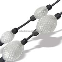 LED flashing light ball 3D pixel ball 360 Beam ball light