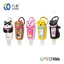 1oz bath body works silicone hand sanitizer holder/hand sanitizer holder/hand gel sanitizer for travel