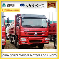 6x4 sinotruk howo tipper strong vehicle machine for tanzania