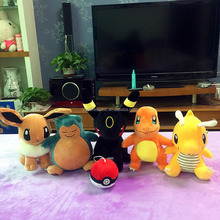 Wholesale New Arrival Made in China Lovely Pikachu Plush Pokemon Doll with Cheapest Price for Kids