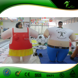Inflatable Sumo Suit / Inflatable Fat Suit / Inflatable Boys And Girls suit
