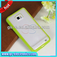 TPU cell phone protector cover case /double color TPU skin case for Samsung Galaxy S2 i9100