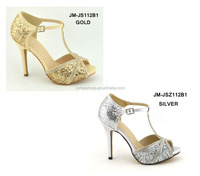 Glitter bling bling fashion evening party shoes peep toe sexy high heel shoes women shoes high heels pumps