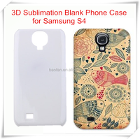 3d sublimation case for Samsung S4 3d sublimation iphone & mobile phone case printing