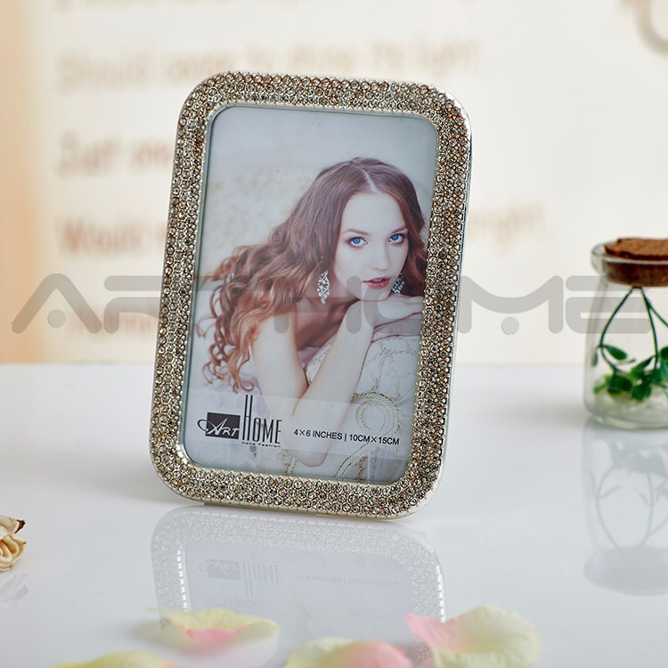 Diamond And Silver Decorative Special Moments Photo Frames
