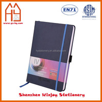 Custom Design A5 Business Leather Notebook