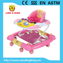 Rocking baby walker with light and music panda lovely style Baby musical walker Walker for baby