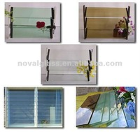 glass sun louver, 3-6mm glass louvers/shutters for door/window
