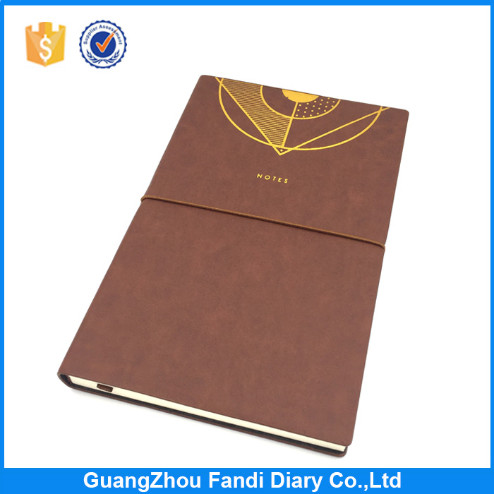 Pu notebook imitation leather stationery handbook