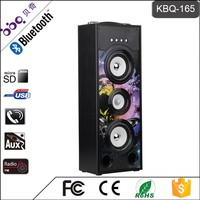 BBQ KBQ-165 25W 3000mAh Portable Mobile Home Theatre Sound Mini Speaker