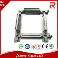 Aluminum weld fabrication of aluminum windows and doors fabrication materials