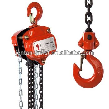 5 ton manual chain pulley block