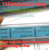 TAKAMISAWA Signal relay JY24H-K 5A 24VDC 4Pin Power Relays and Signal relay