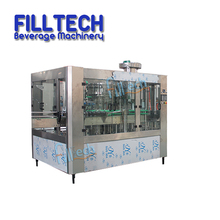 Automatic Glass Bottle Carbonated Soft Drinks Production Line