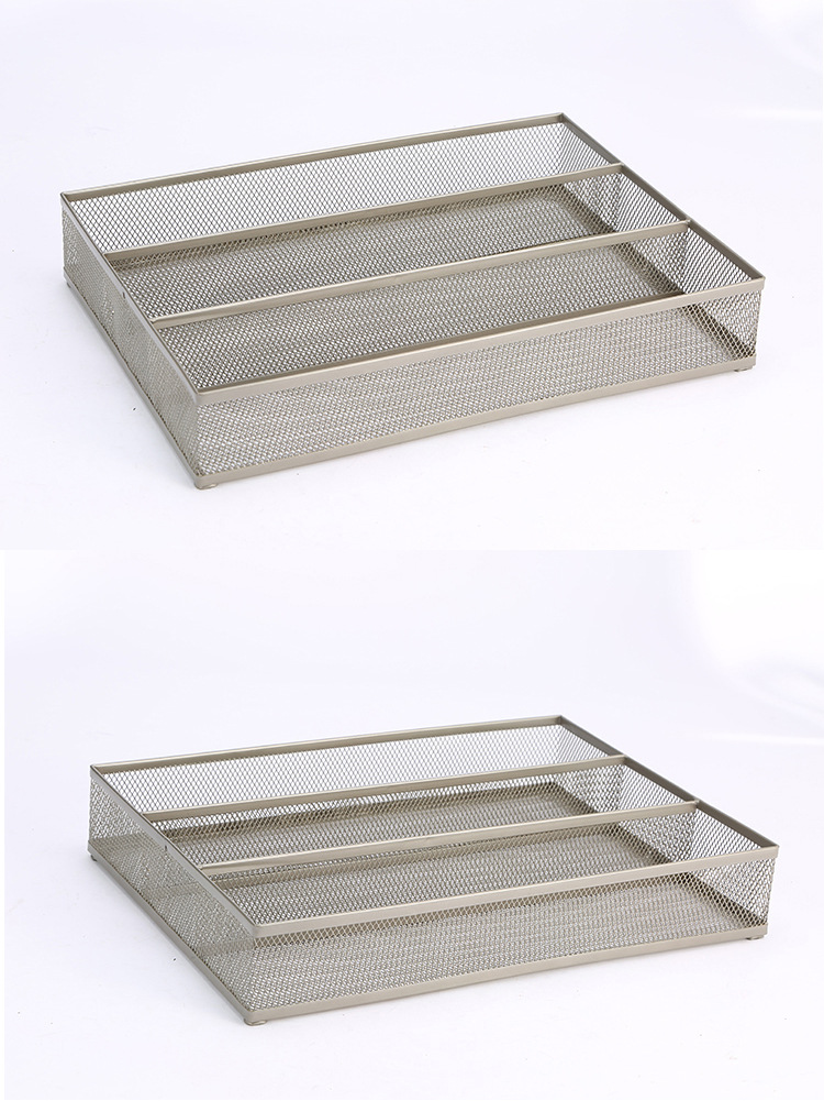 Metal Cutlery Tray Drawer Organizer, utensil organizer Flatware Drawer Dividers, Kitchen Drawer Organizer Nice Cutlery Holder