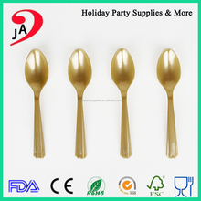 Factory Supply Top Quality Cheap Price Kids Birthday PP Disposable Plastic Cutlery / Plastic Tea Spoon