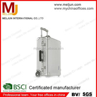 high quality aluminum travel trolley Luggage Bag