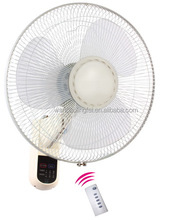 KDK hot sale low noise 16 inch electric wall mounted fan with remote control