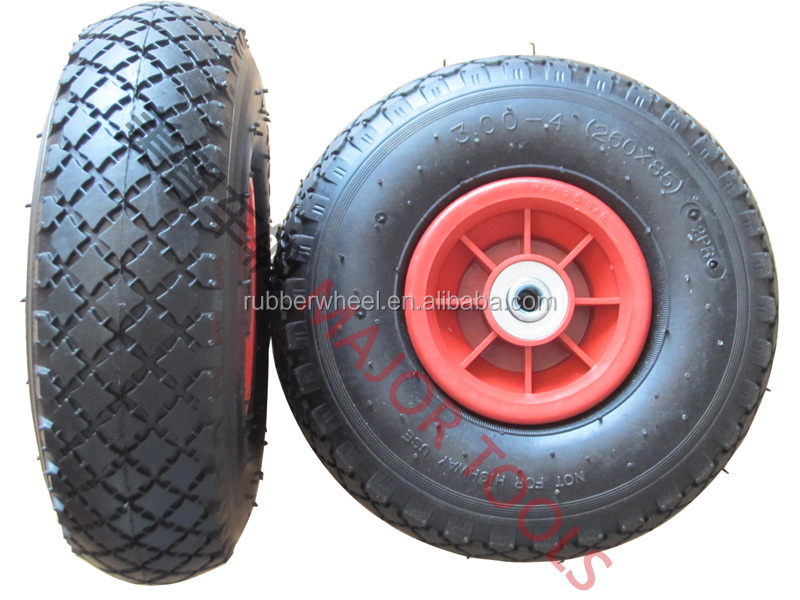 baby pneumatic tyre small rubber wheel 3.00-4