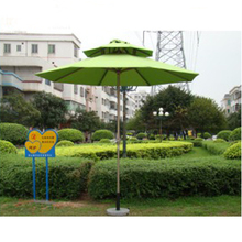 Green Color Marble Base Stable Easy Installation Windproof Outdoor Garden Furniture Parasol Beach Sun Umbrella