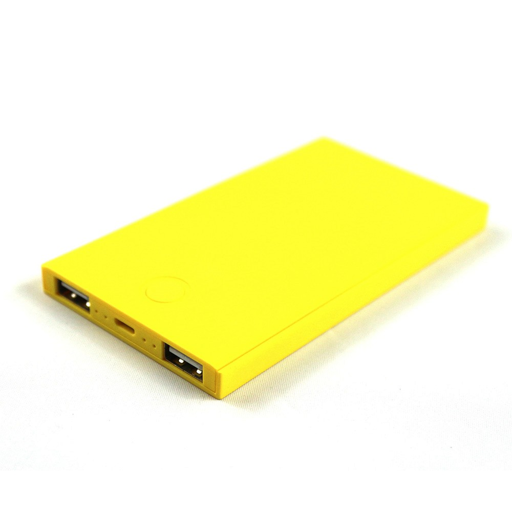 Super slim portable 4000mAh phone charger mobile power bank