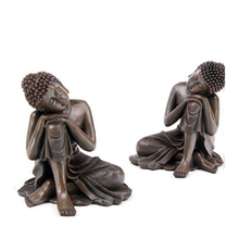 Resin thai sitting buddha statues for sale