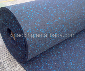 Rubber Gym Fitness Flooring Roll