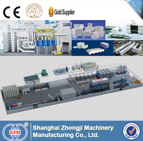 Zhongji SP-7 EPS/Mineral Wool Sandwich Panel Production Line | manufacturing line