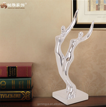bedroom and showroom table sculpture abstract art resin human body souvenirs and gifts for sale