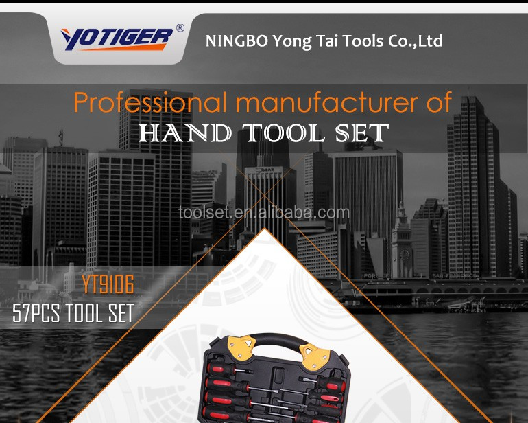 New Design Screwdrivers Mechanics Hand tool set sale