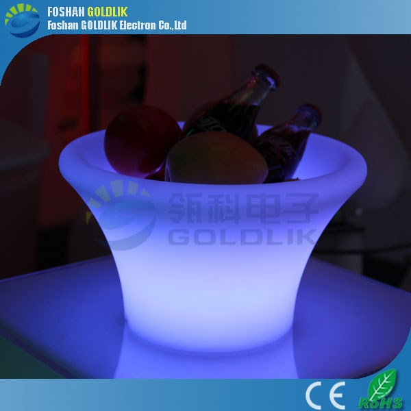led illuminated wine ice bucket/ice bucket with led/cocktail bucket with WIFI Control
