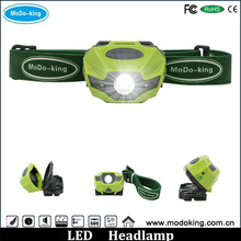 OEM or ODM 3 Watt Rechargeable Animal LED Headlamp with head strap