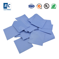 High Quality Heat Conductive Silicone Thermal Pad for LED GPU CPU Cooling