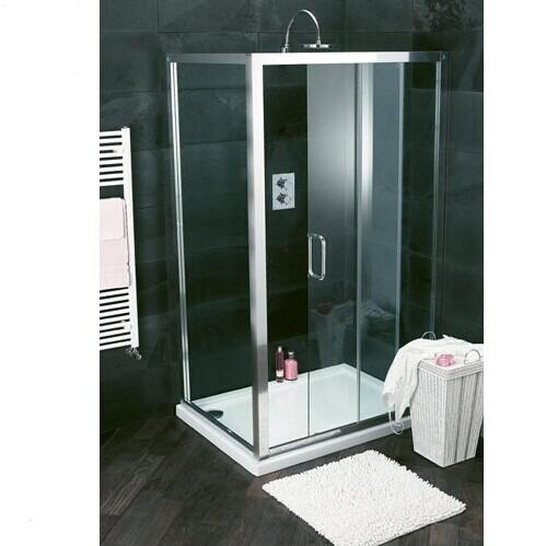 Free standing glass shower enclosure HEF-E09
