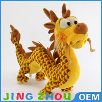 30cm Long Customized Dragon Plush Toy, Plush Chinese Dragon, Plush Stuffed Cute Dragon Toy