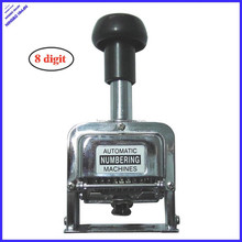 office self-ink automatic hand press numbering machine