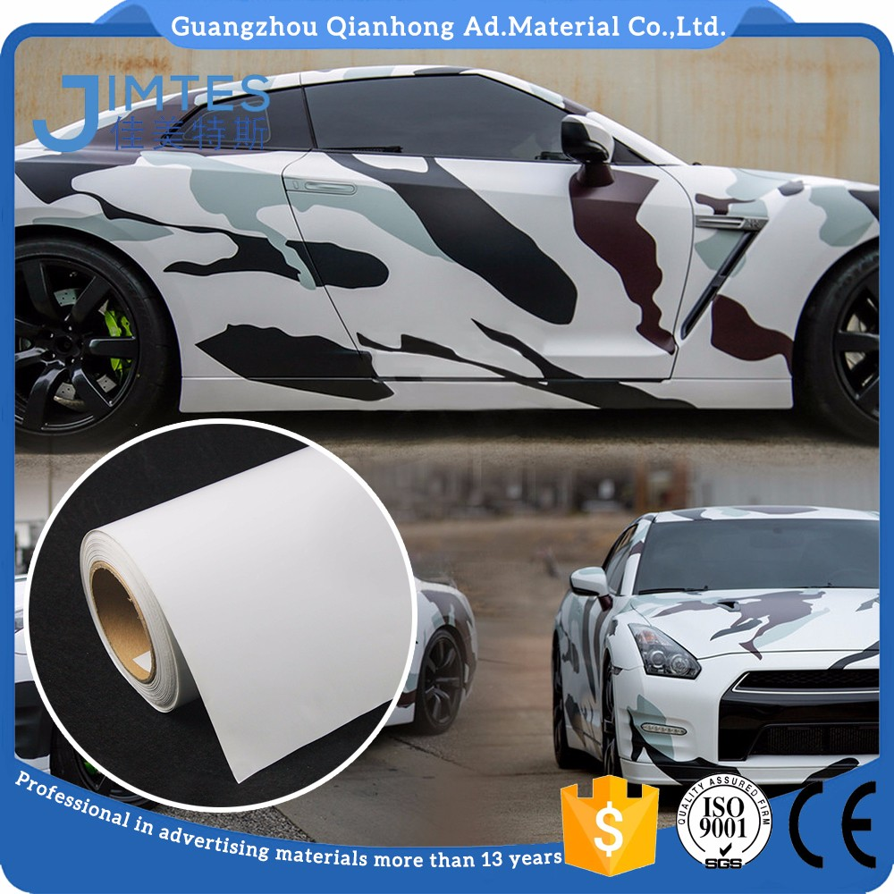120gsm self adhesive printable pvc bubble free vinyl for vehicle wrap