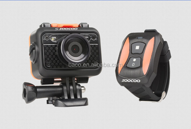 SOOCOO Full 1080P HD Wi-Fi waterproof remote contral soocoo s60 wifi camera