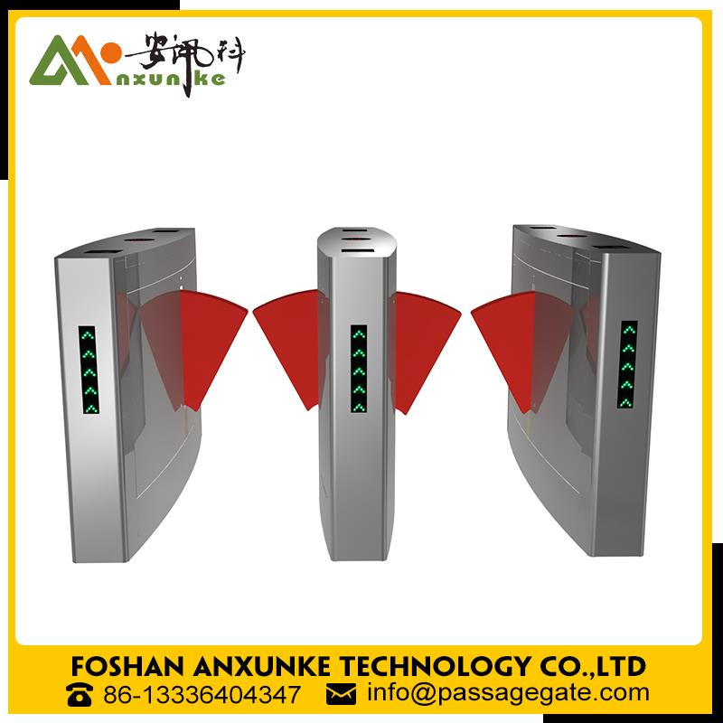 Wholesale 304 stainless steel automatic retractable flap barrier for school/for subway