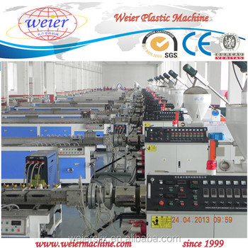 Qingdao Weier PVC Window Profile Extrusion Machine For PVC Profile Window of CE Approved
