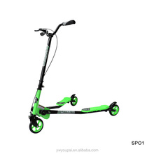wholesale interesting 3 Wheels Foldable Push Speeder Scooter