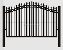 good quality galvanized flat panel fence gates