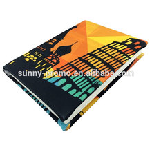 Promotion fabric stretchable book cover with customized design