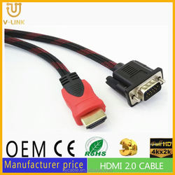 Gray HDMI to VGA cable 30m vga graphic card 9300gs 512mb ddr2 for Hometheater