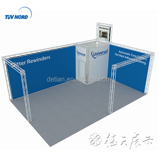 2017 truss trade show display as exhibition booth equipment for German and USA