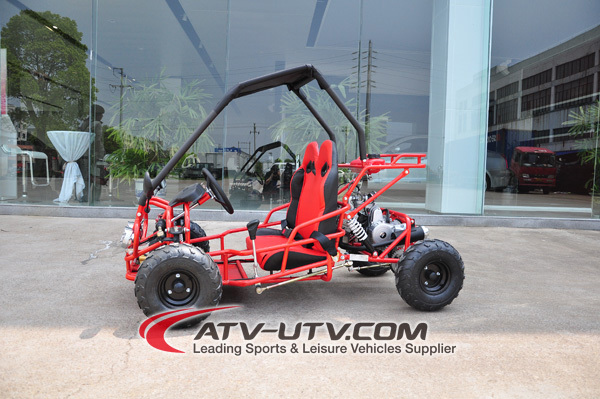 110cc 2 seats gas powered go karts