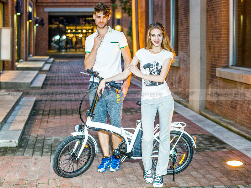 250W Cheap Folding Electric Bike, Cheap Electric Bicycle with EN15194 (EF01S-2)