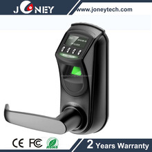 2016 Optical Sensor Digital Biometric Fingerprint Door Lock with by fingerprint, password or Key