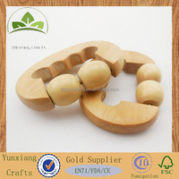 Pharmacies gifts wooden massager wooden body massager